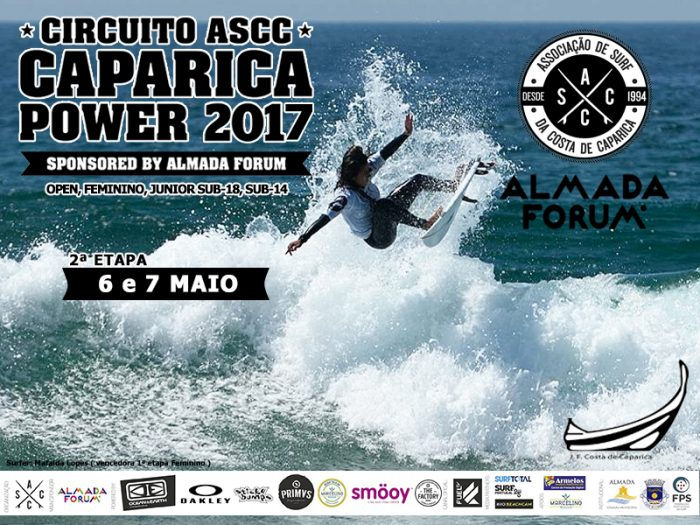 Cartaz Caparica Power 2017 - Mafalda Lopes